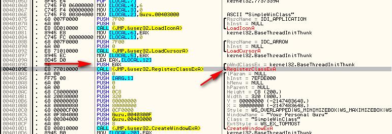 Modifying Binaries: Making a Window Non-Closeable « The